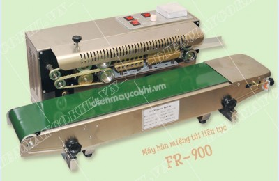 Những điều cần biết về máy hàn miệng túi liên tục fr900