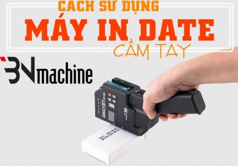Cách sử dụng máy in date cầm tay đúng cách
