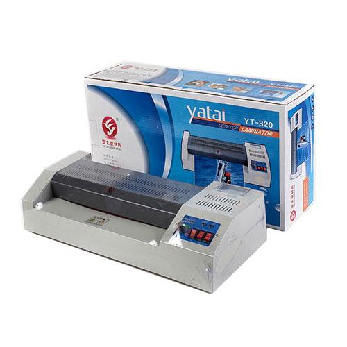 Máy ép plastic laminator YT-320 main loại tốt (rulo trung bình)