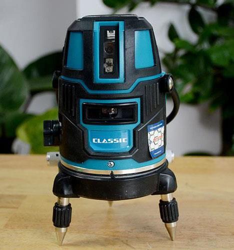 Máy cân bằng laser Figer 5 tia xanh
