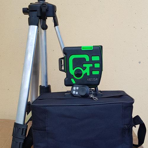 Máy cân bằng laser akuza 12 tia (treo tường)