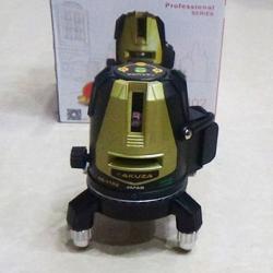 Máy cân bằng laser Akuza 5 tia xanh siêu sáng ( Mẫu mới)