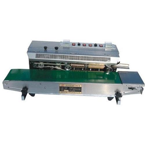 Máy hàn miệng túi liên tục có indate SFR-980